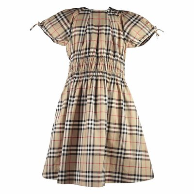 Joyce Vintage Check cotton poplin dress