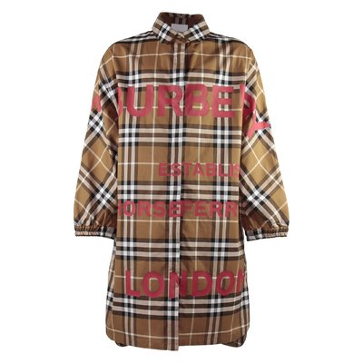 Vintage Check cotton poplin TEEN-ERINA dress