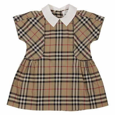 Robyn Vintage Check cotton poplin dress