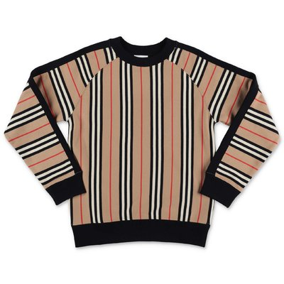 Burberry LANCE Icon Stripe cotton sweatshirt