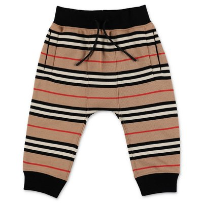 Burberry MINI LANCE Icon Stripe cotton sweatpants
