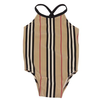 Icon Stripe nylon CRINA one-piece swimsuit