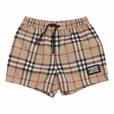 Costume shorts da mare KAMERON Vintage Check in nylon