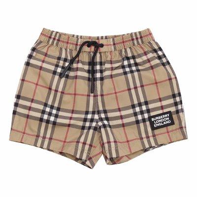 KAMERON Vintage Check nylon swim shorts