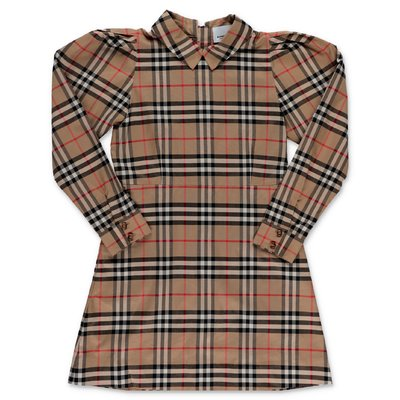 Burberry SUZANNE Vintage Check cotton poplin dress