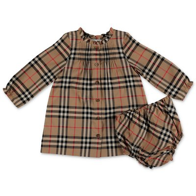 Burberry Vintage Check MARISSA cotton poplin dress