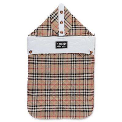 Burberry IGGY Vintage Check cotton sleeping bag