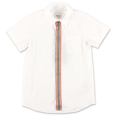 Burberry SILVERTON white cotton poplin shirt