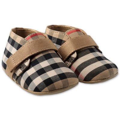 Burberry Vintage Check cotton CHARLTON pre walker shoes