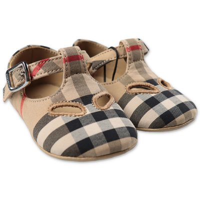 Burberry KIPLING Vintage Check cotton ballerinas