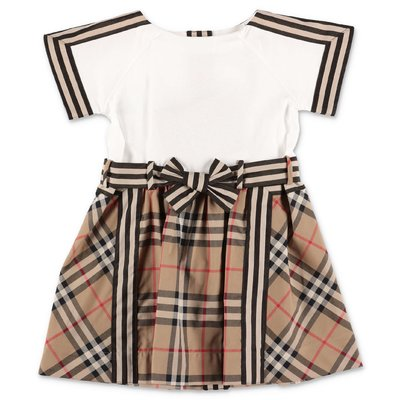 Burberry Vintage Check white cotton Rhonda dress