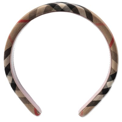 Burberry Vintage Check cotton blend circlet