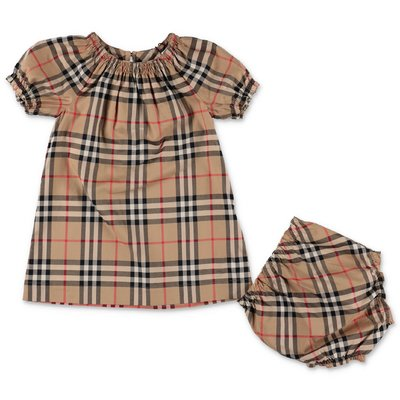 Burberry HEDI Vintage Check cotton poplin dress & coulottes
