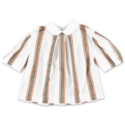 Burberry ADA white Icon Stripe cotton poplin blouse