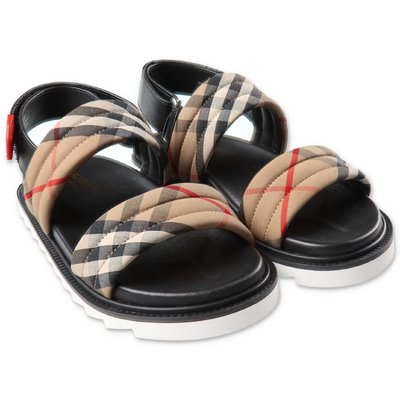 Burberry BREWSTER Vintage Check sandals