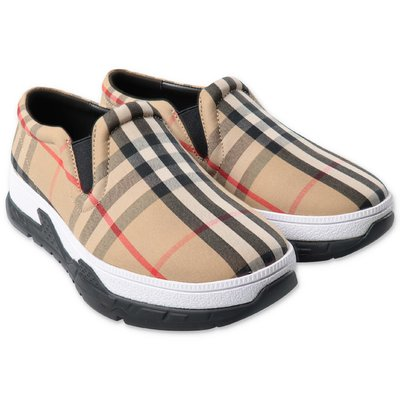 Burberry BRETY Vintage Check laceless sneakers