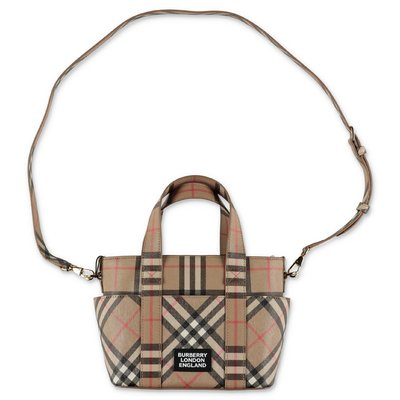 Burberry Vintage Check faux leather Daphne cross body bag