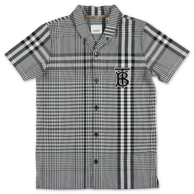 Burberry tartan cotton poplin REYFORD shirt