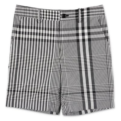 Burberry MARTWELL tartan cotton poplin shorts