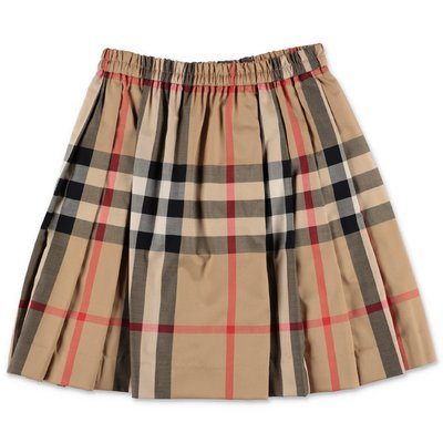 Burberry gonna Vintage Check HILDE in popeline di cotone