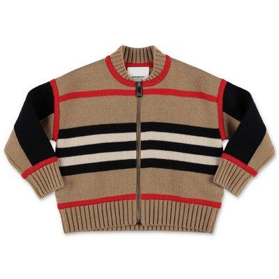 Burberry pullover Icon Stripe MARTYN in maglia di lana