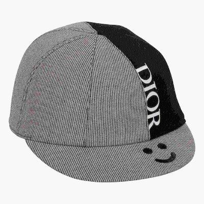 Baby dior Cappello da baseball a righe
