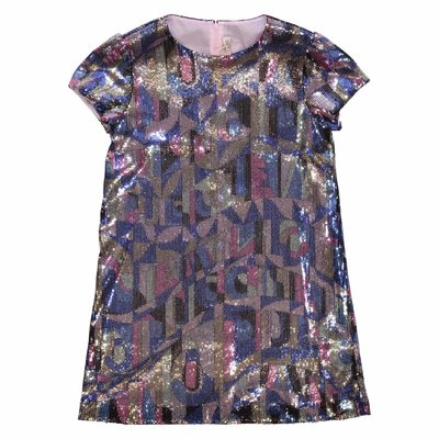 EMILIO PUCCI multicolor sequined techno dress