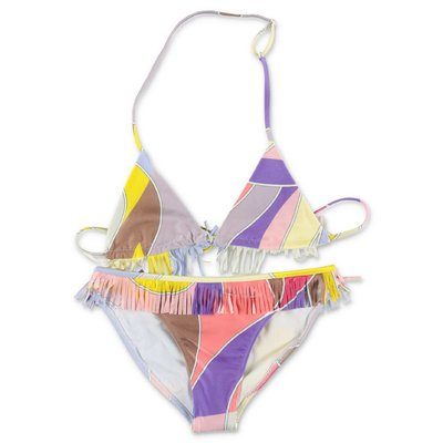 EMILIO PUCCI multicolor lycra two-piece swimsuit