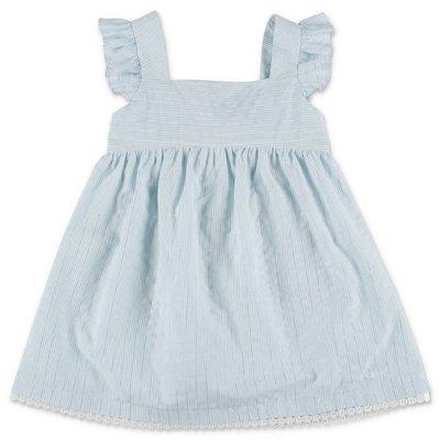 Chloè striped cotton & viscose dress