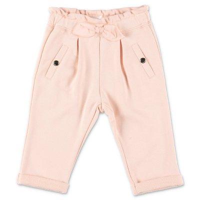 Chloé powder pink cotton sweatpants