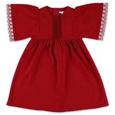 Chloé red Milano jersey dress