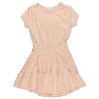 Chloé pink cotton jersey dress