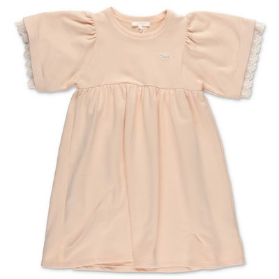 Chloé pink cotton t-shirt dress