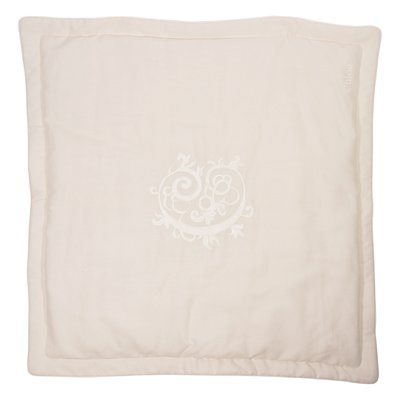 Powder pink linen cotton blanket