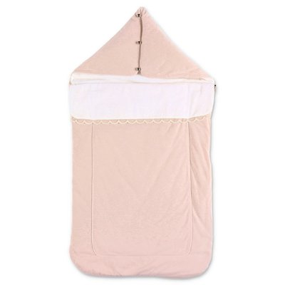 Chloé powder pink cotton sleeping bag