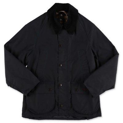 Barbour black waxed cotton jacket