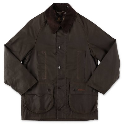 Barbour giubbino Beaufort marrone in cotone cerato