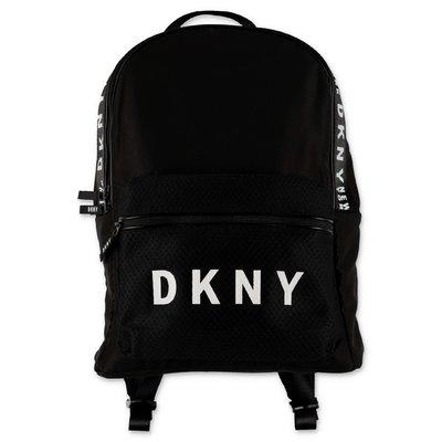 DKNY zaino nero in nylon con logo