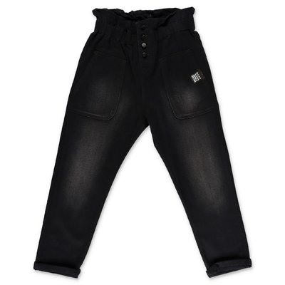 DKNY black stretch denim cotton jeans