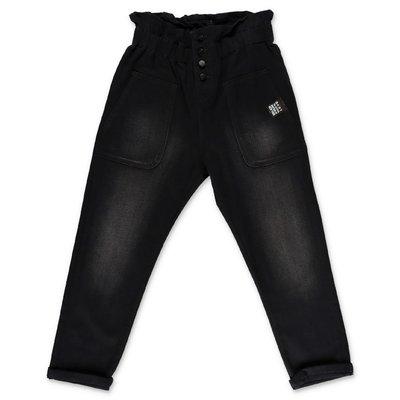 DKNY jeans neri in denim di cotone stretch