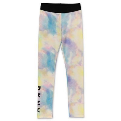 DKNY leggings stampati in lycra
