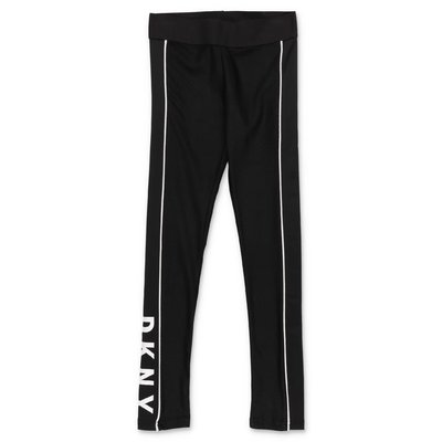 DKNY leggings neri in lycra