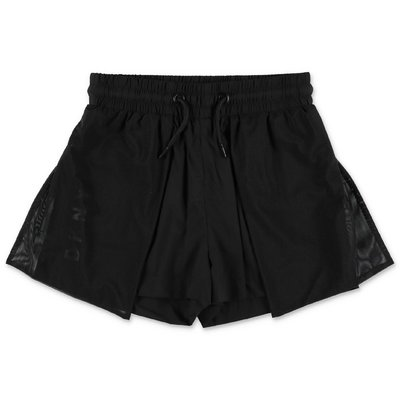 DKNY black nylon shorts