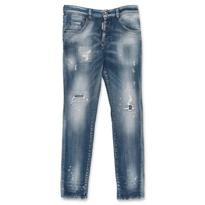 DSQUARED2 jeans in denim di cotone stretch