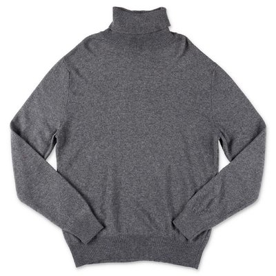 DSQUARED2 dark grey wool blend knit jumper