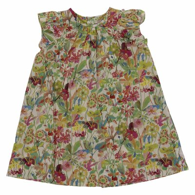Bonpoint floral print cotton dress