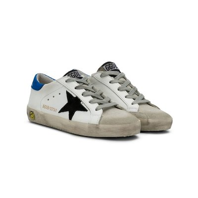 Super Star white leather sneakers