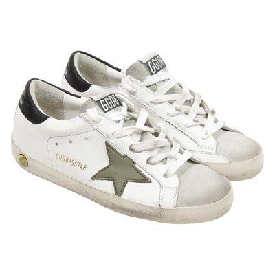 Golden Goose Deluxe Brand White calf leather Superstar sneakers