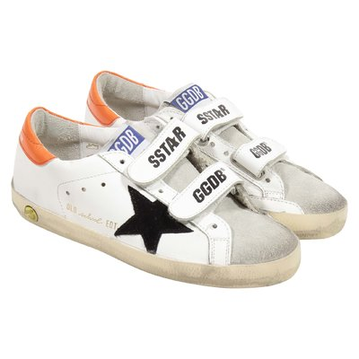 Golden Goose Deluxe Brand Sneakers Old School Superstar in pelle