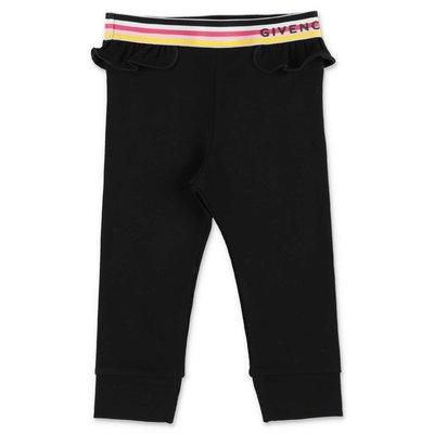 Givenchy leggings neri in cotone stretch